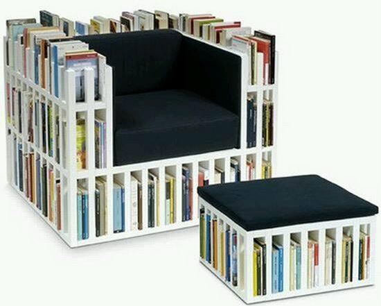 """【时尚家居】坐享""""书""""适生活 看普通文艺二逼青年们的多款收纳椅"""