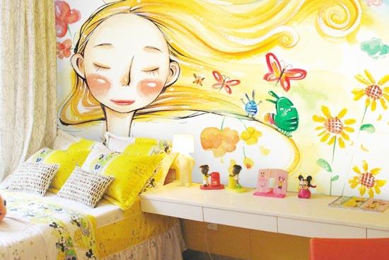 创意无限手绘墙 定制专属个性墙面