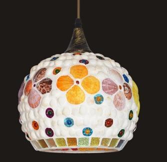 贝壳样式的灯具 把海洋的感觉带回家