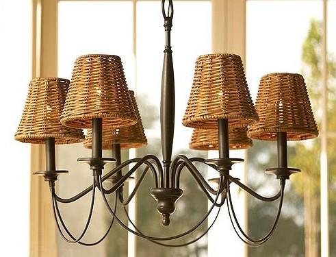 3款自然风灯具 为暖春居室添清新凉意