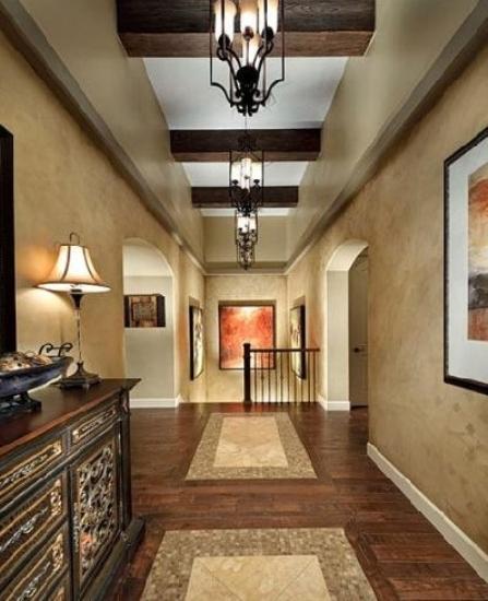 室内装饰错位搭配 地板瓷砖混搭无边界