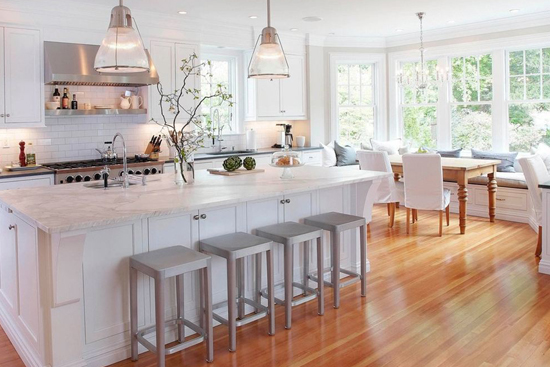 精致味觉空间 让开放式厨房中西合璧