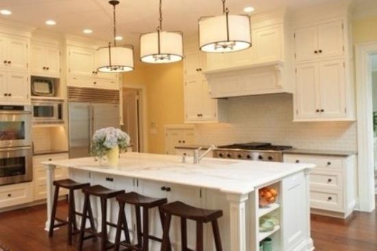 开放式厨房装修 餐厨完美一体化