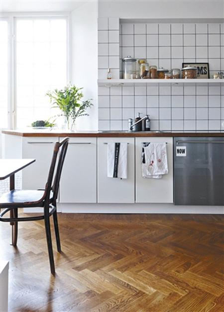 代表不同女性的4种厨房装修风格