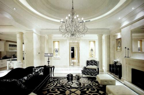 欧式客厅布置 在家体验奢华格调!