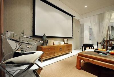 新中式客厅装修赏析 现代与古典相交汇