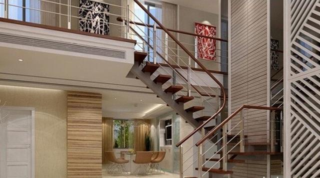 楼梯装修需遵循一定原则 才能装出舒适美观的家