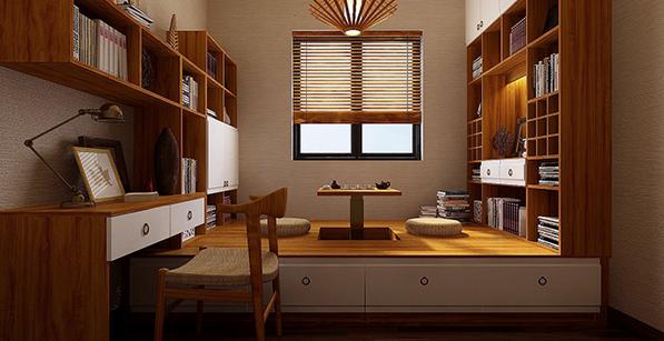 三大书房榻榻米设计原则 教你完美打造