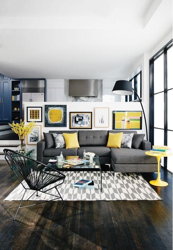 不动一砖一瓦,4步让小客厅看起来更大