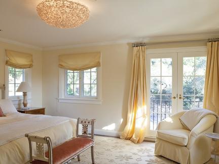 卧室窗帘有哪些混搭方法