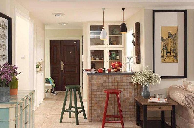 家装吧台设计与清洁保养