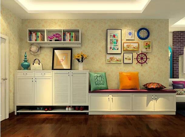 颜值爆灯的墙面收纳 你家也该这样弄啦!