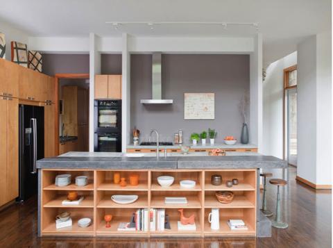 超实用!厨房岛台设计的6个小技巧