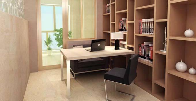 书房设计要点,摆脱书房古板用这四招!