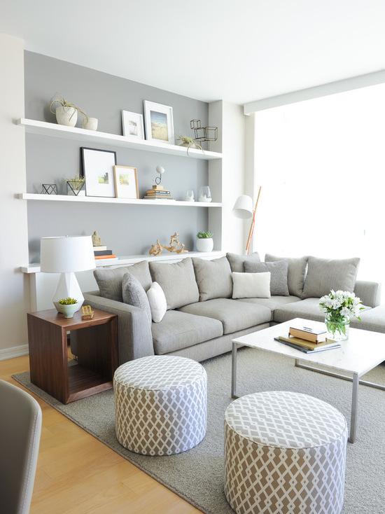 简洁优雅温婉 彰显品位的客厅装扮