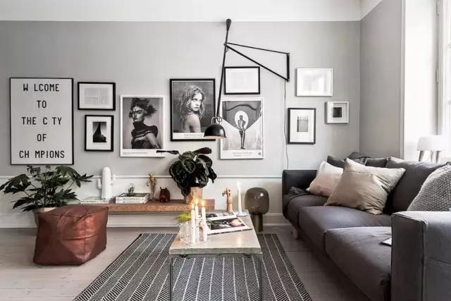 优雅黑白灰,独特的高格调