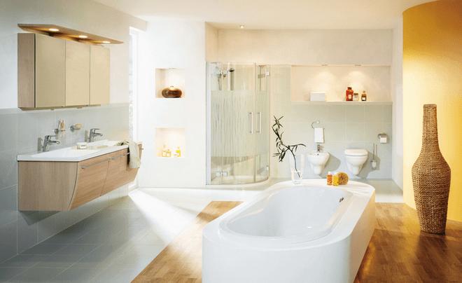 浴室瓷砖怎么选?质感、色彩、实用缺一不可