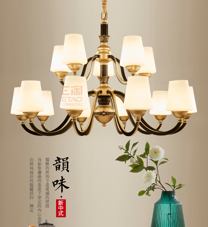 [E淘-灯饰]美式风格 ——纳米多 新品上架!